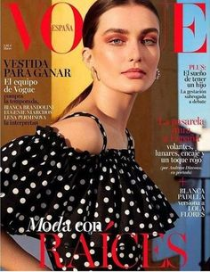 Vogue Spain March 2017 - Andreea Diaconu
