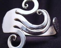 Upcycled Besteck Gabel Armband Eco-Friendly antike Löffel Schmuck
