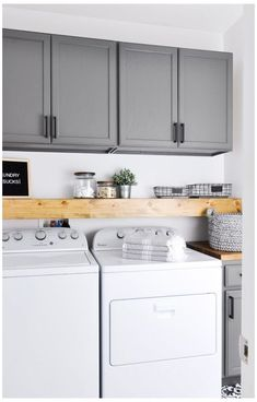 Gorgeous Small Farmhouse Laundry Room Design Ideas, The room has a lot of the original capabilities. It's so awful whenever your room is dirty and untidy. Living room is comparable to a heart from some . Mudroom Laundry Room, Laundry Room Layouts, Laundry Room Remodel, Laundry Room Cabinets, Farmhouse Laundry Room, Laundry Room Design, Laundry In Bathroom, Laundry In Kitchen, Diy Cabinets
