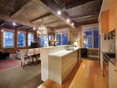 Beautiful Warehouse Conversion in Melbourne... love the old & new