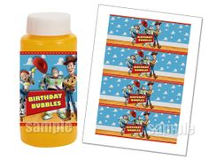 INSTANT DOWNLOAD Toy Story Bubble Wrappers - Toy Story Party Favors on Etsy, $5.00