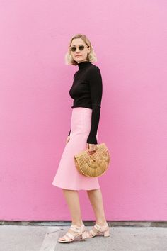 L.A.'s Chicest Designer Has the Perfect Spring Outfit Ideas via @WhoWhatWearUK