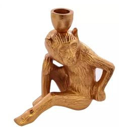 Monkey 3, Decorative Accessories, Bookends, Candle Holders, Copper, Candles, Home Decor, Products, Decoration Home