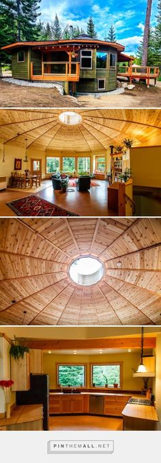 A Firsthand Look at the Magnolia 2300 Yurt - the First Energy Star Home in British Columbia | Inhabitat - Sustainable Design Innovation, Eco Architecture, Green Building