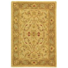 Found it at Wayfair - Antiquities Ivory/Brown Area Rug