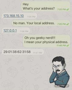 #computernetworking people will get the #humor  #geekhumor #geek #Linux #geekjokes by itsfoss