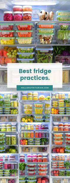 Taking the time to clean, organize and stock your fridge with colorful, alive foods is the most important self-love you can practice! Learn how to apply principles made popular by master organizers like Marie Kondo to your fridge organization! Learn the best refrigerator storage containers and why to switch from plastic food storage to glass food storage containers! Grab the free printable .pdf too! xo, Kristen #mariekondo #eattolive #nutritarian #oilfreevegan #WFPB #vegan #hellonutritarian