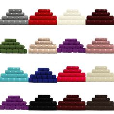 So Soft High Qualty 6 Piece Towel Bale. Available in 6 Piece bale. Featuring a super soft Cotton yarn fibre. These luxury cotton towels provide a consistent towel pile with amazing water absorbent technology. Luxury Towels, Bath Sheets, Cotton Towels, Bath Towels, Ebay, Face, Napkins, Cotton, House