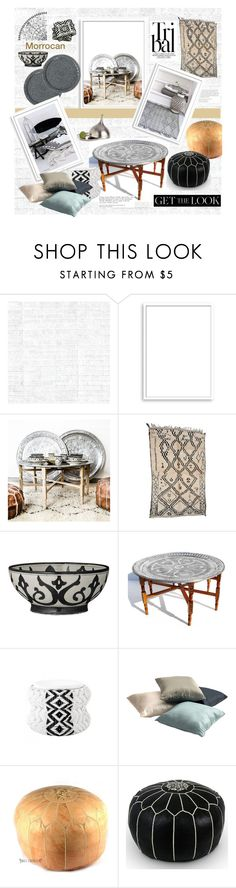"""""""Home Decor: Modern Tribal"""" by fl4u ❤ liked on Polyvore featuring interior, interiors, interior design, home, home decor, interior decorating, Osborne & Little, Bomedo, GreenGate and DAY Birger et Mikkelsen"""