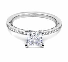 Tacori Princess Cut - Oh man..this is my dream ring! I hope one day I will be asked the big question..with THIS in the box. WOW