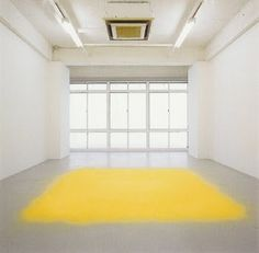 """Wolfgang Laib """"In art there is only one thing that counts: the thing you can't explain."""" ~Georges Braque (via Sympathy for the art. Wolfgang Laib, White Rooms, Land Art, Mellow Yellow, Conceptual Art, Art Plastique, Installation Art, Photo Art, Minimalism"""
