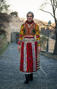 Traditional Magyar Dress