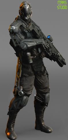 ArtStation - Dark_Commander mark 2, mars ...