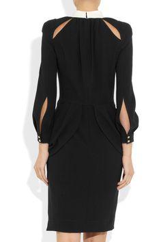 Altuzarra|Cutout crepe-twill dress|NET-A-PORTER.COM