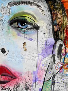 "Saatchi Online Artist: Loui Jover; Ink, 2013, Mixed Media ""wishes"""