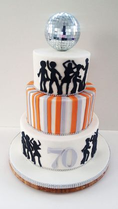 Cake - 70's Style Love it!!