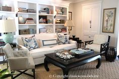 classic • casual • home: Crisp Summer Beach House Look