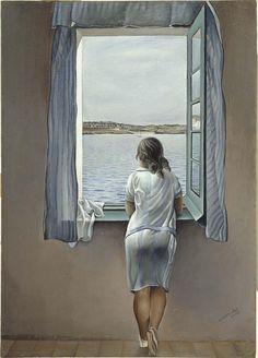 Dalí, Salvador - Figura en una finestra (Figura en una ventana)   Museo Nacional Centro de Arte Reina Sofía