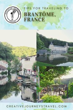 Our favorite hotels, restaurants, and activities in Brantôme, France. The most important things you need to know to plan your next trip in France's Dordogne Region! Overview of our favorite places to visit and things to do in Brantôme, including visiting the abbey, kayaking along the Dronne River, and taking a day trip to nearby Sarlat.