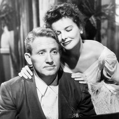 Katherine Hepburn and Spencer Tracy in Without Love (1945)