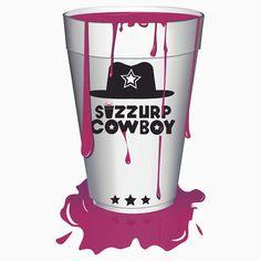 Sizzurp Cowboy, lean, purple drank, swag, dirty south, hip hop, codeine cowboy, dirty sprite, codeine, codeine cup, cup, sizzurp, drank, sip drank, double cup, sprite, prometh, syrup, drip, cup, drink, trippy, dope, purple swag, trill, promethazine, trap, pimp c, dj screw, h town, pour up, tx, texas, leaning, swisha, ugk, sip, sip drank, 2cups, slow, slow down, zro, prometh with codeine, drank in my cup, codeine shirt, sippin sizzurp, purp, asap, purple kisses, drugs  shirt