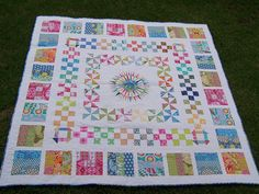 MIL - Round Robin Quilt finished | Flickr - Photo Sharing!