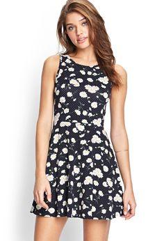 Daisy Print Dress | FOREVER21 #F21FreeSpirit #SummerForever