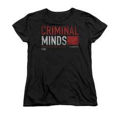 Criminal Minds - Title Card Women's T-Shirt