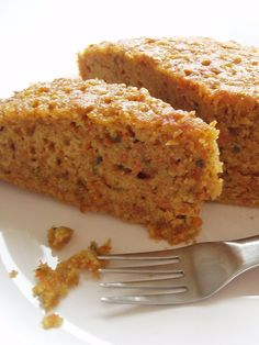 Jamie Eason's Carrot Cake Protein Bars  Calories: 94  Fats: 1.25 grams  Carbs: 10 grams  Protein: 10 grams  The recipe on BodyBuilding.com doesn't add the ricotta or the extra oats.  Delicious.  And when she recommends the glass dish..it makes a difference.  I say this only from experience lol.