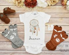 Boho Girl Clothes Baby Girl Clothes Gypsy Soul by LittleFoxNest