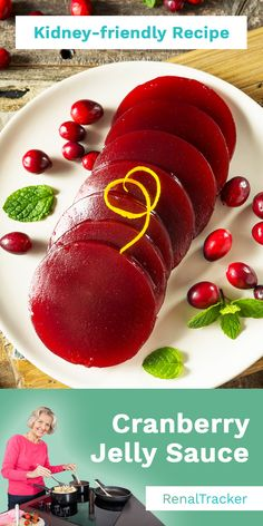 Enjoy the tangy, sweet taste of Jellied Cranberry sauce.   Start delaying dialysis by knowing what kidney foods to eat and controlling your nutrient intake. Check out the SPPP breakdown for this recipe that'll help you manage kidney disease: (#LowSodium - 0 mg) (#LowProtein - 0 g) (#LowPotassium - 13 mg) (#LowPhosphorus - 0 mg) #RenalTrackerRecipe #renaldietrecipes #kidneyfriendlyfoodrecipes #kidneyfoodrecipes #CKDFoodrecipes