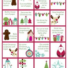 I've written before about how we are a family who is crazy about advent calendars. We usually have three advent calendars going in December and we sometimes have as many as five! A toy calendar for each of the boys, chocolate calendars and my favorite of all of them -- the activity advent...