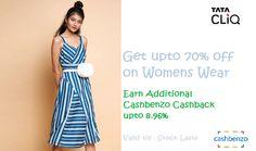 43ca6be9d02  Tatacliq  Offer Get upto 70% off on  Womens  Wear  Discount