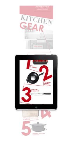 Better Half by Hannah Thory, via Behance #ipad #magazine #digital