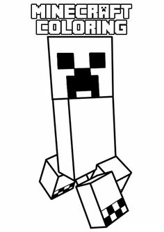 Kleurplaten Minecraft Creeper.34 Beste Afbeeldingen Van Minecraft Minecraft Birthday Party