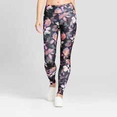 Women's Performance Leggings - JoyLab Floral Print S, Size: Small, MultiColored Gender: female. Yoga Fashion, Fitness Fashion, Fitness Style, Sport Chic, Women's Leggings, Print Leggings, Who What Wear, Floral Prints, Floral Patterns