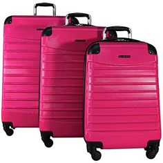 To make you feel more secure, we have gone through research and picked from the best of the best list, the top 10 best hardside luggages for Let's go through them altogether. Hard Suitcase, Hardside Spinner Luggage, Luggage Sets, Washington State, Travel Bags, 3 Piece, Shell, Holiday, Top