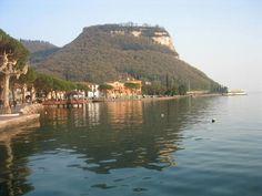 Garda , la Rocca  Lake of garda, Italy