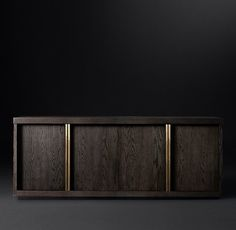 """Bezier Panel 4-Door Sideboard--80""""w x 18d x 32h"""