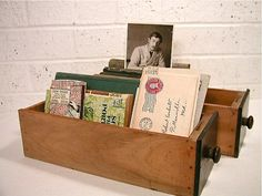 Vintage Sewing Drawers / office organizers