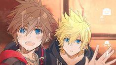 I hope those two can have a nice conversation together Roxas Kingdom Hearts, Kingdom Hearts Characters, The Legend Of Zelda, Final Fantasy, Kingdom Hearts Wallpaper, Detective, Kindom Hearts, Image Manga, Vanitas