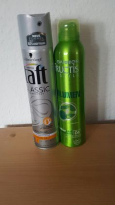 These are my  hairspray from germany 😘😘