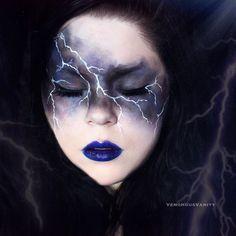 Se la sensación este #Halloween #Makeup #Maquillaje #Storm