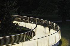 ARHITEKTURA DOO » » Footbridge Splavarska brv