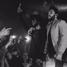 """450 Likes, 2 Comments - The Weeknd (@theweeknddirect) on Instagram: """"#TheWeeknd x #ASAPRocky at Yams Day"""""""