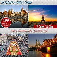 Globally Turizm ile keyifli bir yolculuğa hazır mısınız? Benelüx-Paris Seyahatinde aşk tazeleyebilir, Klasik İtalya turunda bilmediğiniz yeni yerleri keşfedebilirsiniz. Turizm firmaları arasında öncü olan Globally Smart, size birbirinden şık ve ucuz tatil imkanları sunuyor. Farklı kültürler tanıma ve değişik coğraflarda var olma fırsatını kaçırmamalısınız. İşte bu muhteşem kampanyalardan biri Benelüx-Paris Turu
