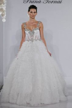 Pnina Tornei Wedding Dress