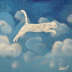 ".""From cloud to cloud"" Raphael Vavasseur Art"