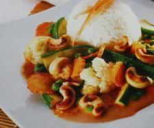 Rezept Thailändisches Gemüsecurry mit Reis von SpätzlemitSoß - Rezept der Kategorie Hauptgerichte mit Gemüse