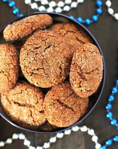 Chewy, perfectly spiced, vegan gluten free gingerbread cookies that will make a nice addition to your Christmas baking list and become a new favourite!